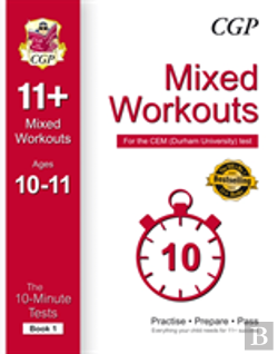 Bertrand.pt - 10-Minute Tests For 11+ Mixed Workouts: Ages 10-11 (Book 1) - Cem Test