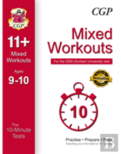 10-Minute Tests For 11+ Mixed Workouts: Ages 9-10 - Cem Test