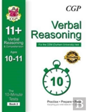 10-Minute Tests For 11+ Verbal Reasoning Ages 10-11  - Cem Test
