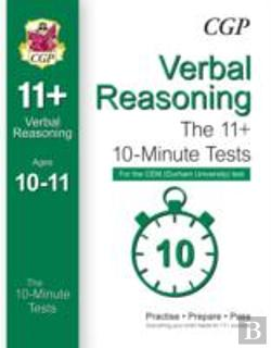 Bertrand.pt - 10-Minute Tests For 11+ Verbal Reasoning (Ages 10-11) - Cem Test