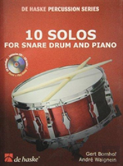 10 Solos For Snare Drum & Piano