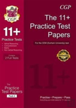 Bertrand.pt - 11+ Practice Tests For The Cem Test - Pack 4