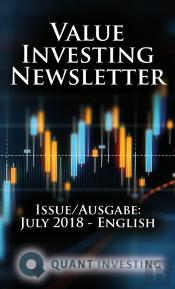 2018 08 Value Investing Newsletter By Quant Investing / Dein Aktien Newsletter / Your Stock Investing Newsletter