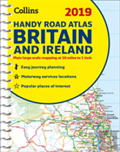 2019 Collins Handy Road Atlas Britain