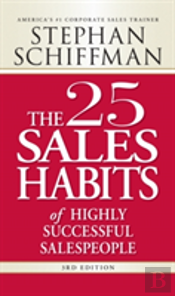25 Sales Habits Of Highly Successful Salespeople