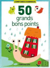 50 Grands Bons Points ; Comptines D'Animaux