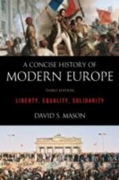 A Concise History Of Modern Europe