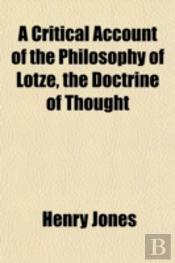 A Critical Account Of The Philosophy Of