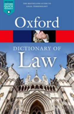 Bertrand.pt - A Dictionary Of Law