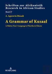 A Grammar Of Kusaal