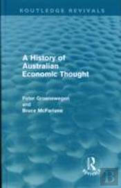 A History Of Australian Economic Thought