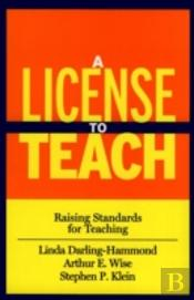 A License To Teach
