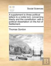 A Supplement To Three Political Letters