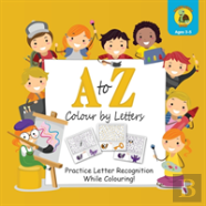 A To Z Colour By Letters