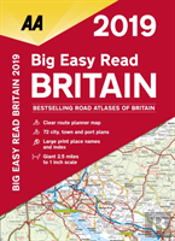 Aa Big Easy Read Atlas Britain
