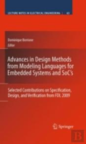Advances In Design Methods From Modeling