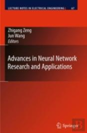Advances In Neural Network Research & Ap