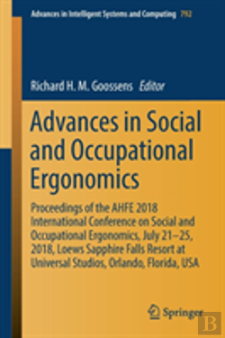 Bertrand.pt - Advances In Social And Occupational Ergonomics