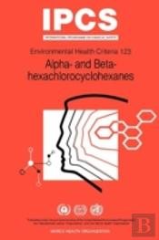 Alpha- And Beta-Hexachloro-Cyclohexanes (Alpha- And Beta-Hchs)