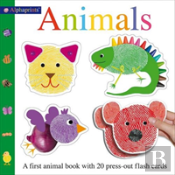 Alphaprint Animals Flashcd Bk