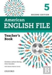American English File: 5: Teacher'S Book With Testing Program Cd-Rom