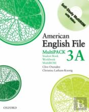 American English File Level 3: Student Book/Workbook Multipack A