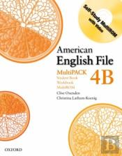 American English File Level 4: Student Book/Workbook Multipack B