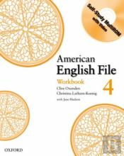 American English File Level 4: Workbook With Multi-Rom Pack