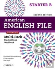 American English File Second Edition: Starter: Multipack B With Online Practice And Ichecker