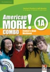 American More! Level 1 Combo A With Audio Cd And Cd-Rom