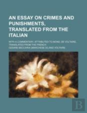 An Essay On Crimes And Punishments, Tran