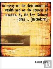 An Essay On The Distribution Of Wealth A