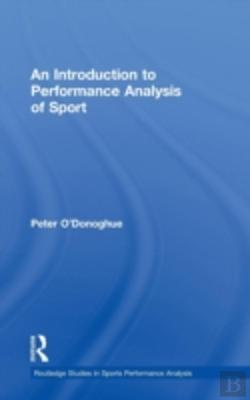 Bertrand.pt - An Introduction To Performance Analysis Of Sport