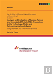 Analysis And Evaluation Of Success Factors And Synergistic Effects In M&A Transactions In The Technology, Media And Telecommunication Industry