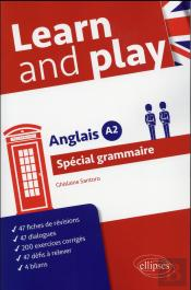 Anglais Learn And Play Special Grammaire Niveau A2