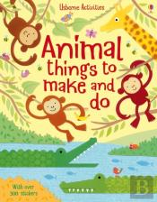 Animal Things To Make And Do