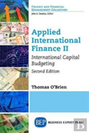 Applied International Finance Ii, Second Edition