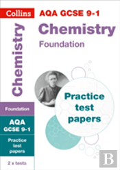 Aqa Gcse 9-1 Chemistry Foundation Practice Test Papers