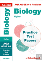 Aqa Gcse Biology Higher Practice Test Papers