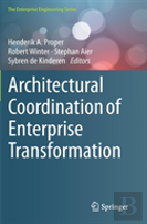 Architectural Coordination Of Enterprise Transformation