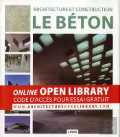 Architecture Et Construction : Le Beton