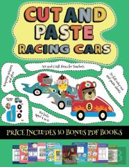 Art And Craft Ideas For Teachers (Cut And Paste - Racing Cars)