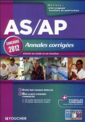 As/Ap Annales Corrigees Concours 2012