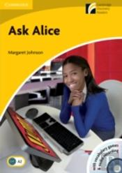 Ask Alice Level 2 Elementary/Lower-Intermediate With Cd-Rom/Audio Cd