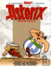 Asterix Omnibus'Asterix The Gladiator', 'Asterix And The Banquet', 'Asterix And Cleopatra'