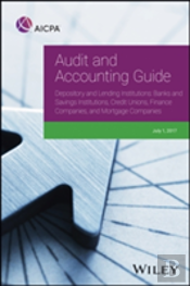 Audit And Accounting Guide Depository And Lending Institutions