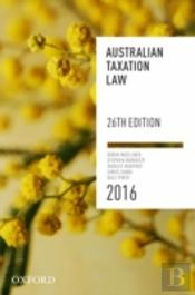 Australian Taxation Manual 2016