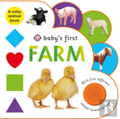 Babys First Sound Book Farm