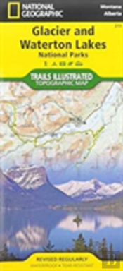 Best Easy Day Hiking Guide And National Geographic Trail Map Bundle: Glacier And Waterton National Parks