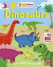 Big Stickers For Tiny Hands: Dinosaurs